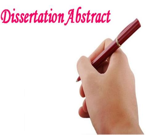 Format of the dissertation proposal